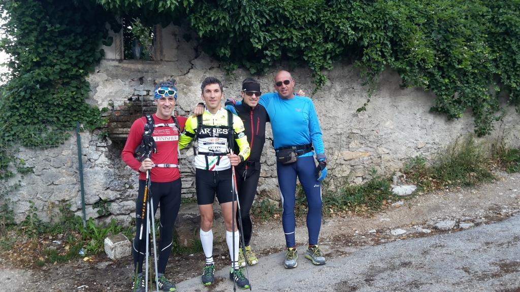 A La Fontanella, partenza