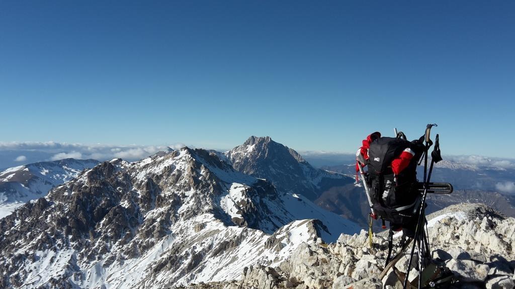 V Monte Camicia 2564