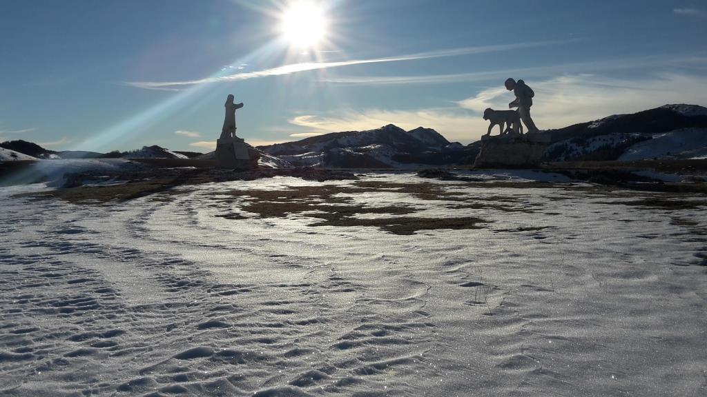 A Il monumento a Pupo Nunzio, pastore di Roio