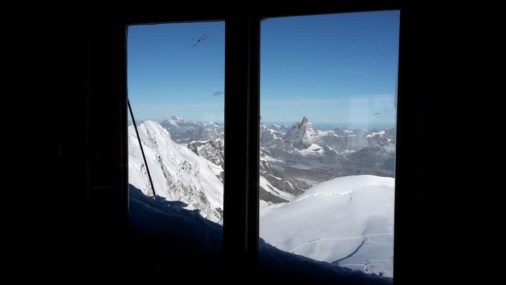 U Dalla finestra della Capanna