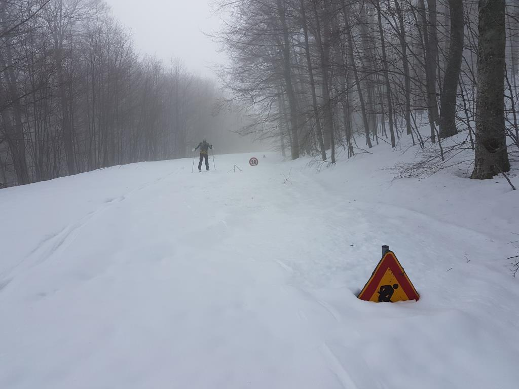 r quantit_ di neve sulla strada pedemontana