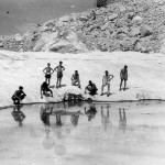 Ghiacciaio del Calderone laghetto Sofia 1935