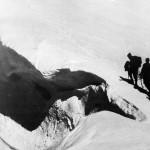 Ghiacciaio del Calderone inverno 1966
