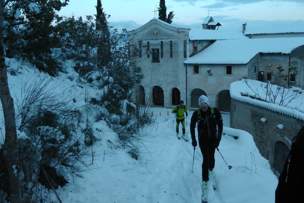 M Scialpinismo al monastero
