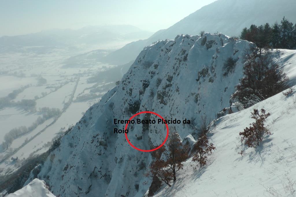 Zc Monte Circolo e l'Eremo del Beato Placido