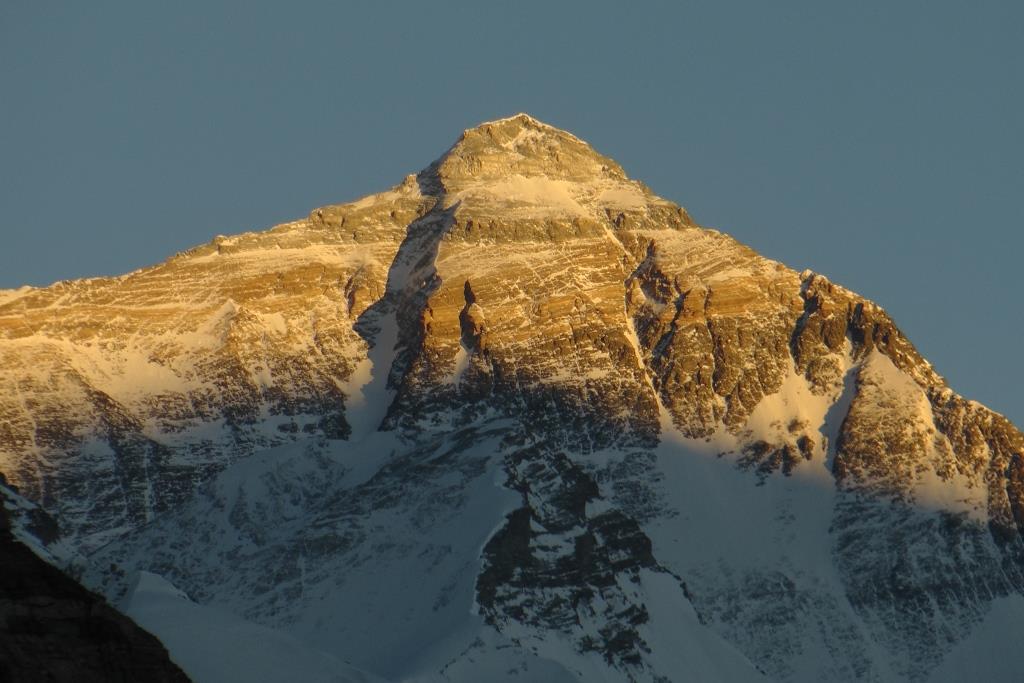 D Il tramonto sull'Everest