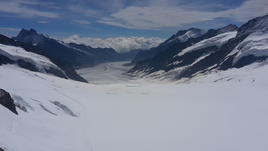 A Ghiacciaio Jungfrau Svizzera