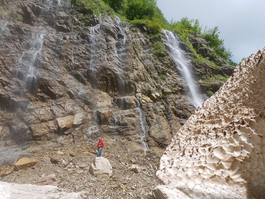 C Cascate e sorgenti Valle dell'Inferno Gran Sasso d'Italia