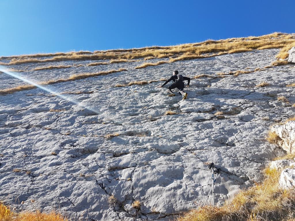 f tutte maniglie sicure per l'arrampicata
