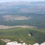 Z La Fossa del Pratiglio e panorama sulla Catena del Gran Sasso