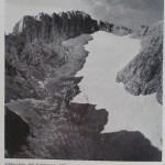 Ghiacciaio del Calderone Foto di Zanon agosto 1970