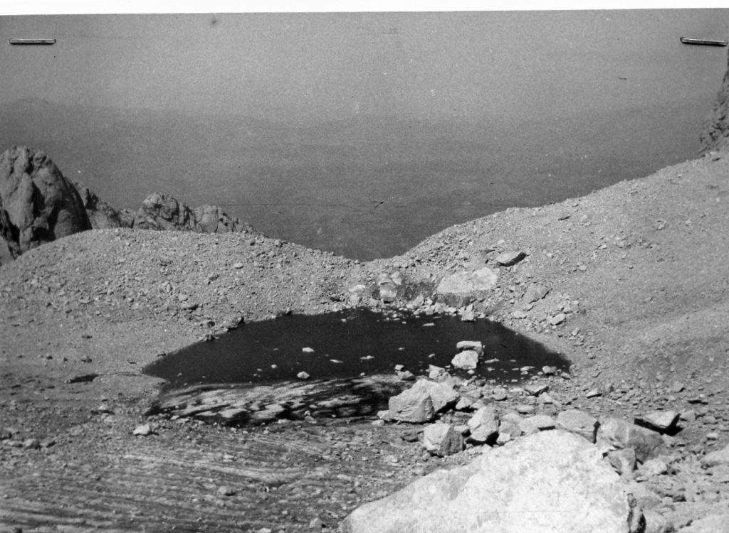 Laghetto Sofia settembre 1949 foto Tonini