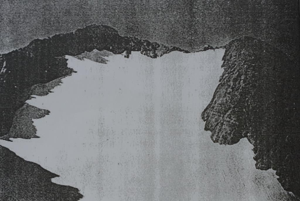 b Ghiacciaio del Calderone 16 agosto 1916 foto Rebaudi