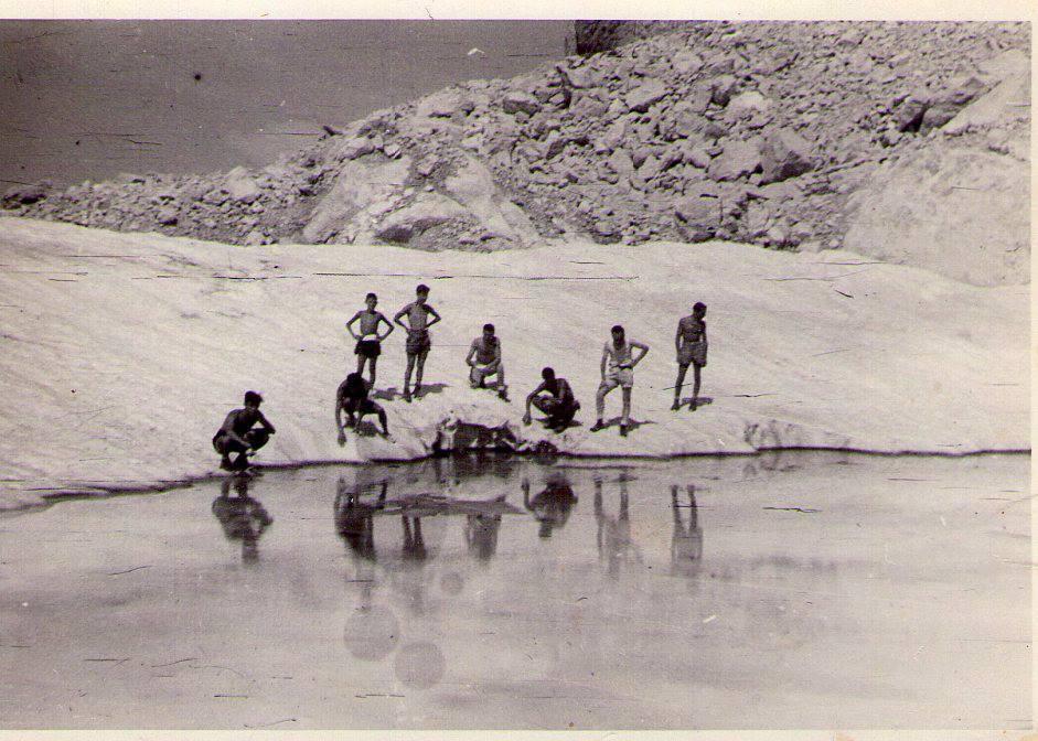 c Ghiacciaio del Calderone laghetto Sofia 1935
