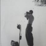 Alfredo Mascitti di Isola del Gran Sasso al Ghiacciaio del Calderone luglio - agosto 1934-38