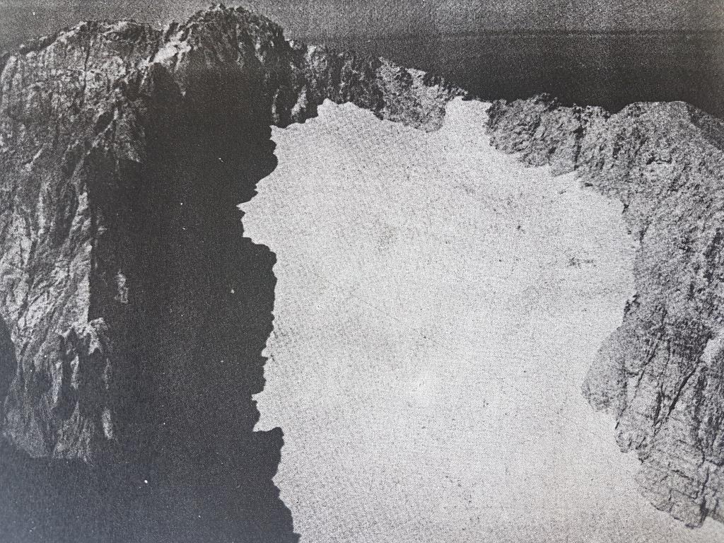 d Ghiacciaio del Calderone agosto 1966 foto Graziosi