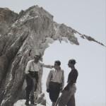 Luglio 1934 Torrione Cambi m 2830 foto archivio CAI AQ