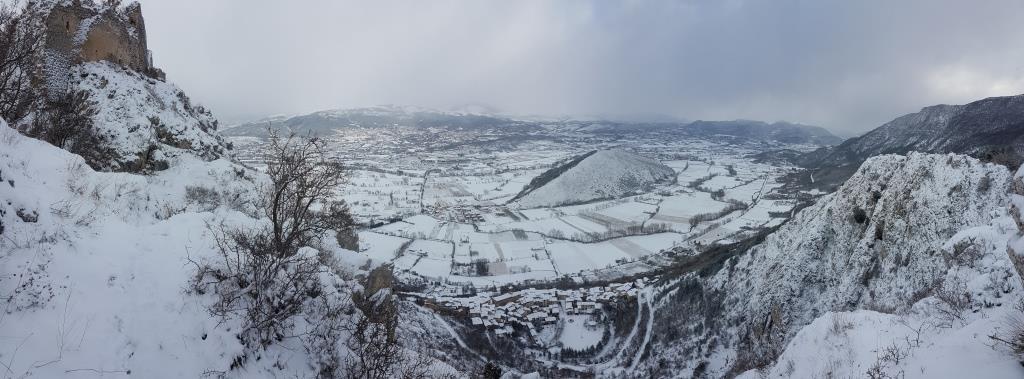 f Il Monte Circolo detto anche il dirupo di San Massimo