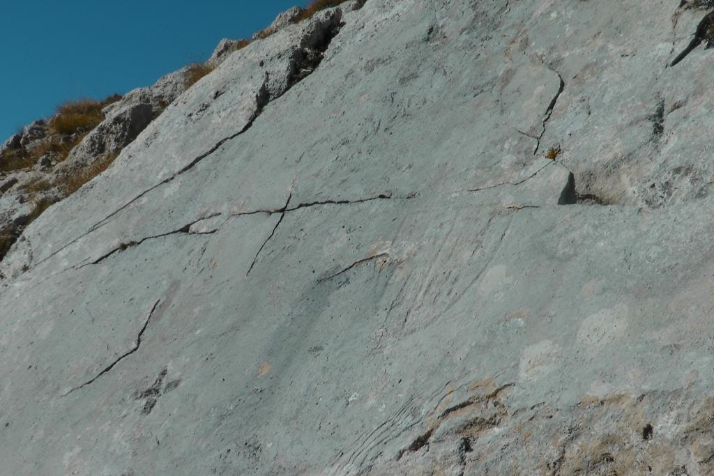 B Il II Stemma Aragonese sulla balza rocciosa del Camicia