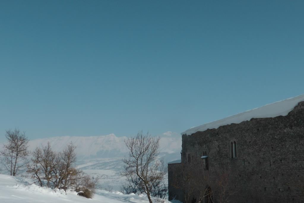 E Il Monastero Fortezza di S Spirito d'Ocre oggi alimentato dall'Acquedotto Cannele
