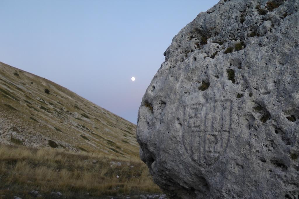 Il I Stemma Aragonese e la luna