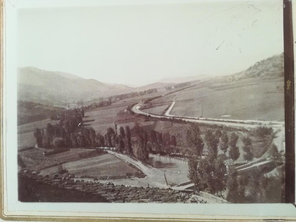 Ponte Romano di Campana (le edicole coperte) 1906 proprietà Franco Sevi