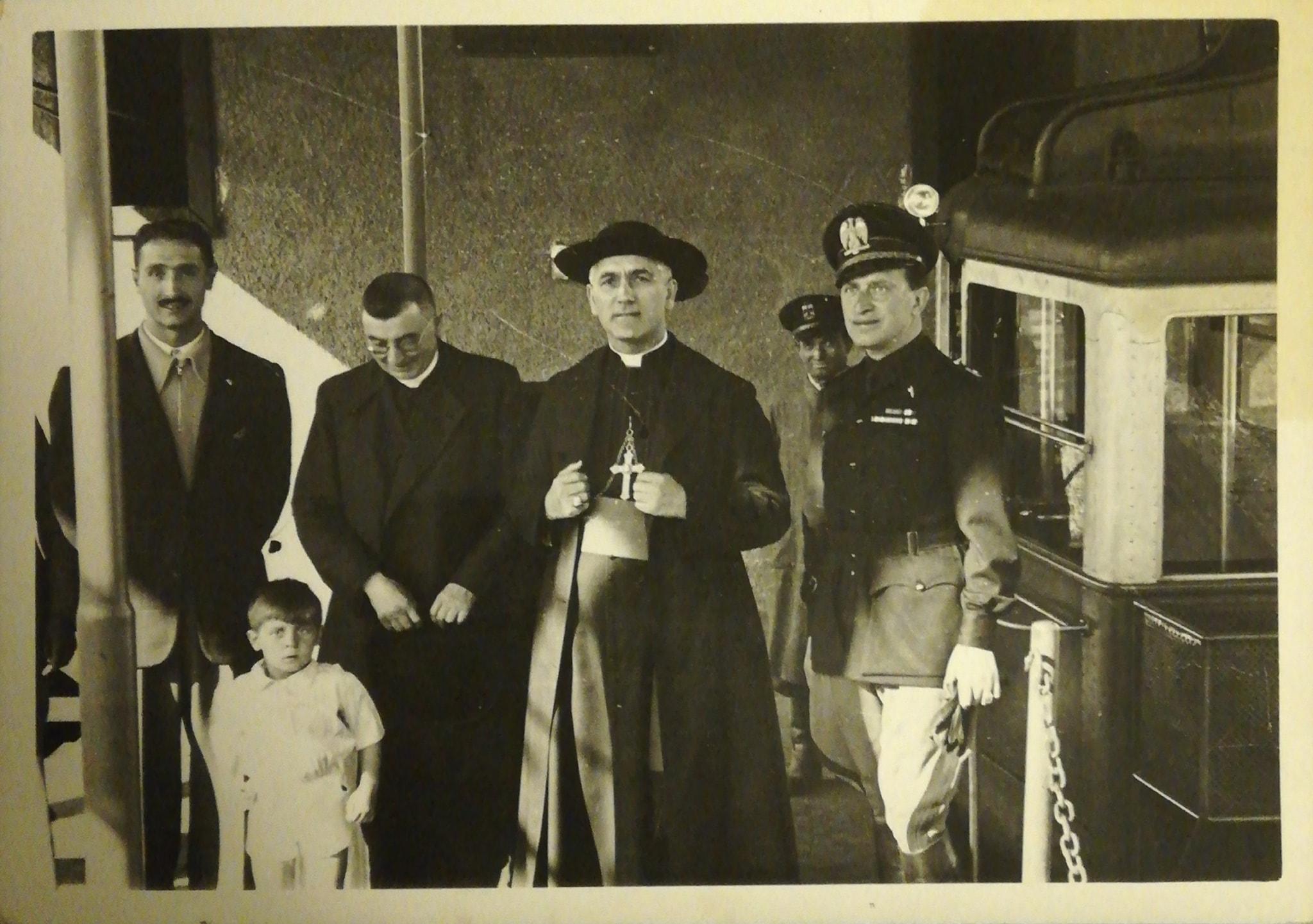 Sua Eccellenza alla funivia del Gran Sasso foto archivio Luca Angeletti