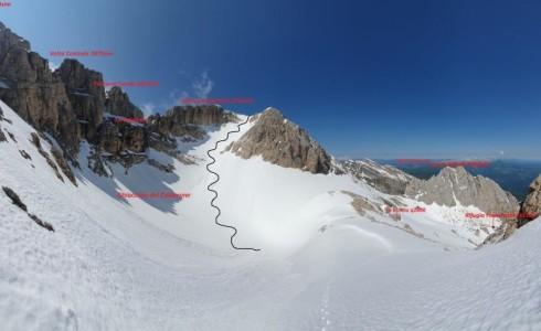 e Maggio 2020 Il bacino glaciale del Calderone
