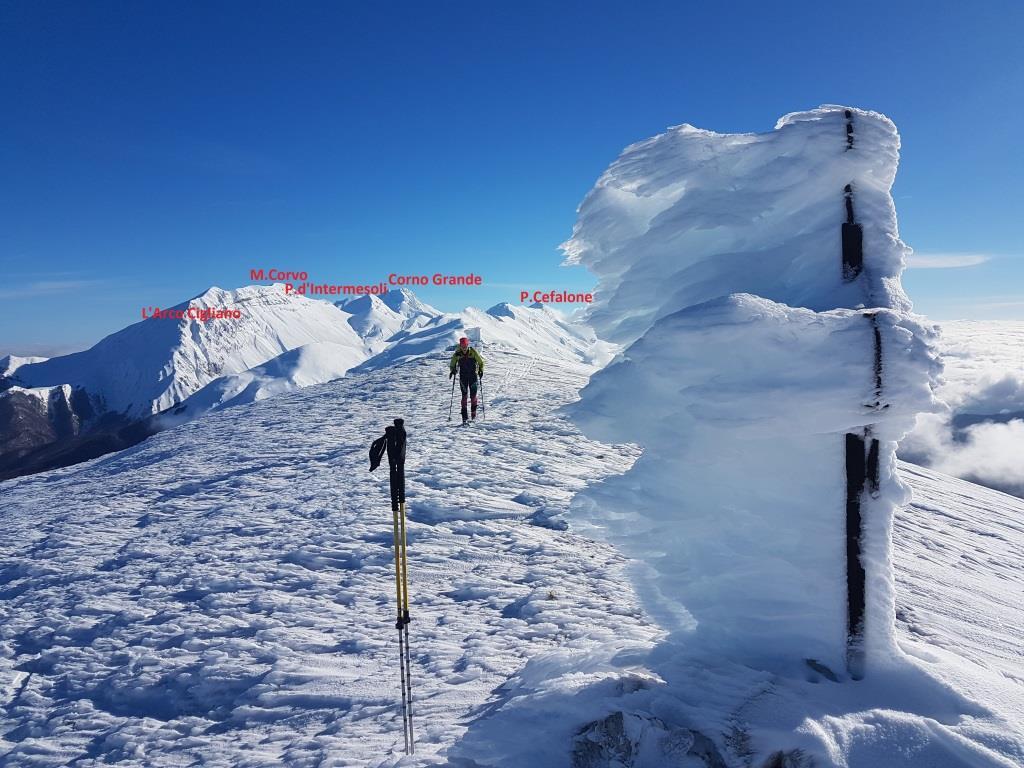B Monte San Franco, la vetta 2132slm
