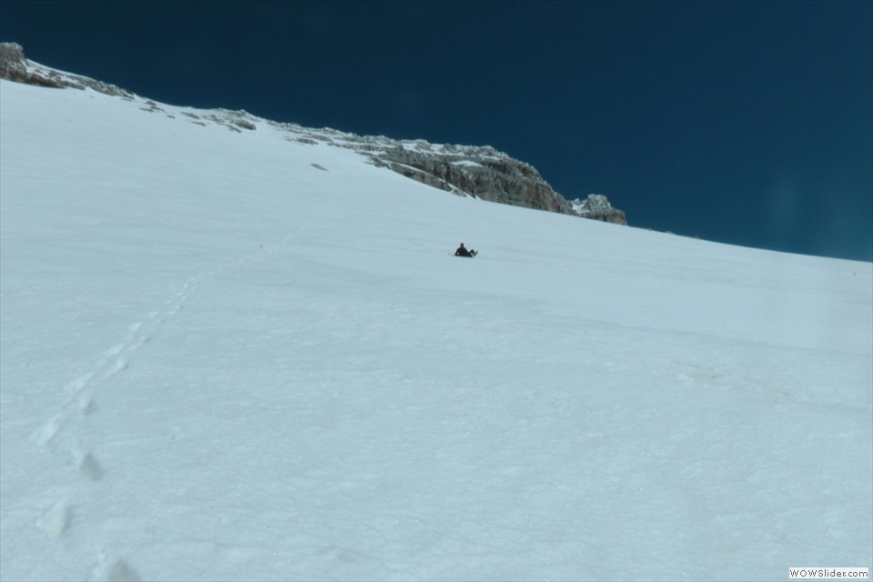 peccato non avere gli sci