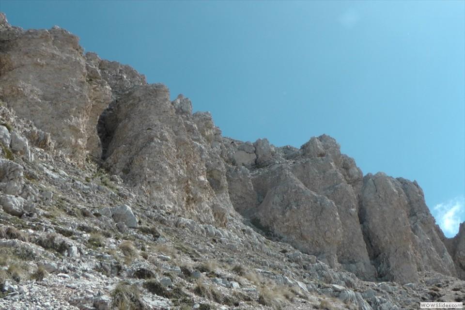 Le ultime rocce d'Intermesoli