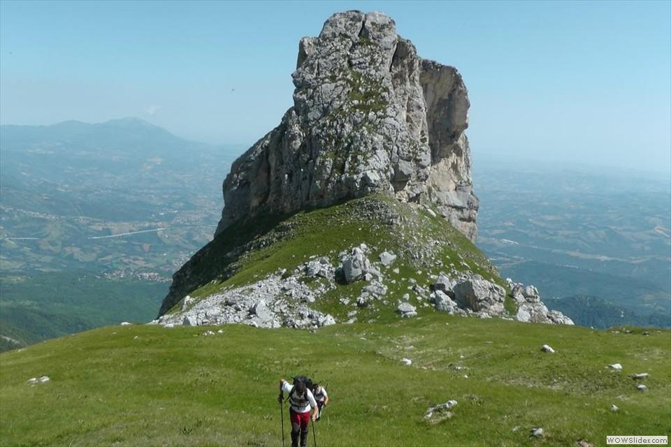 Superato Monte Palombo