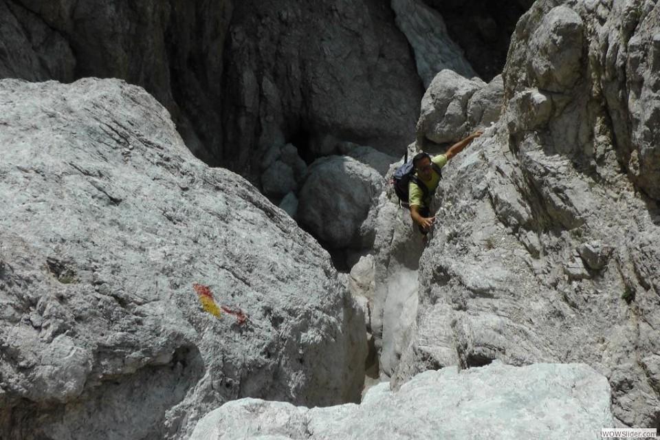 Si arrampica su roccia buona